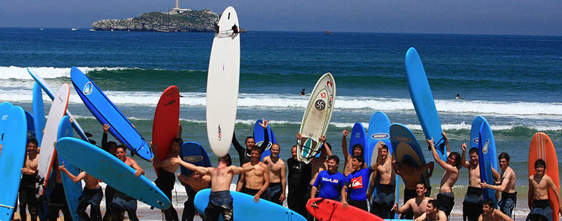 Surf Schools without Accommodation - ESCUELA CANTABRA DE SURF QUIKSILVER ROXY